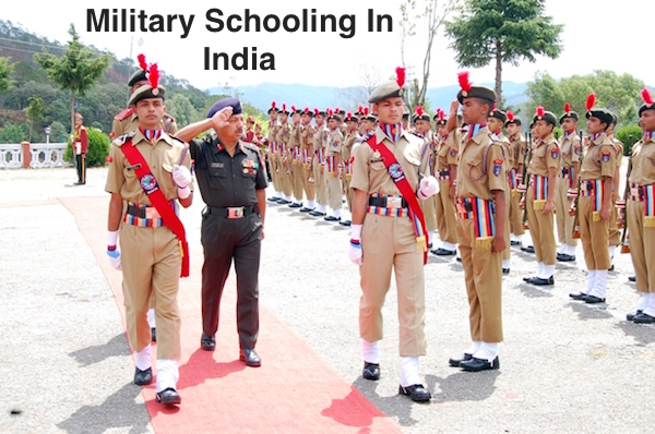 Military Schooling In India